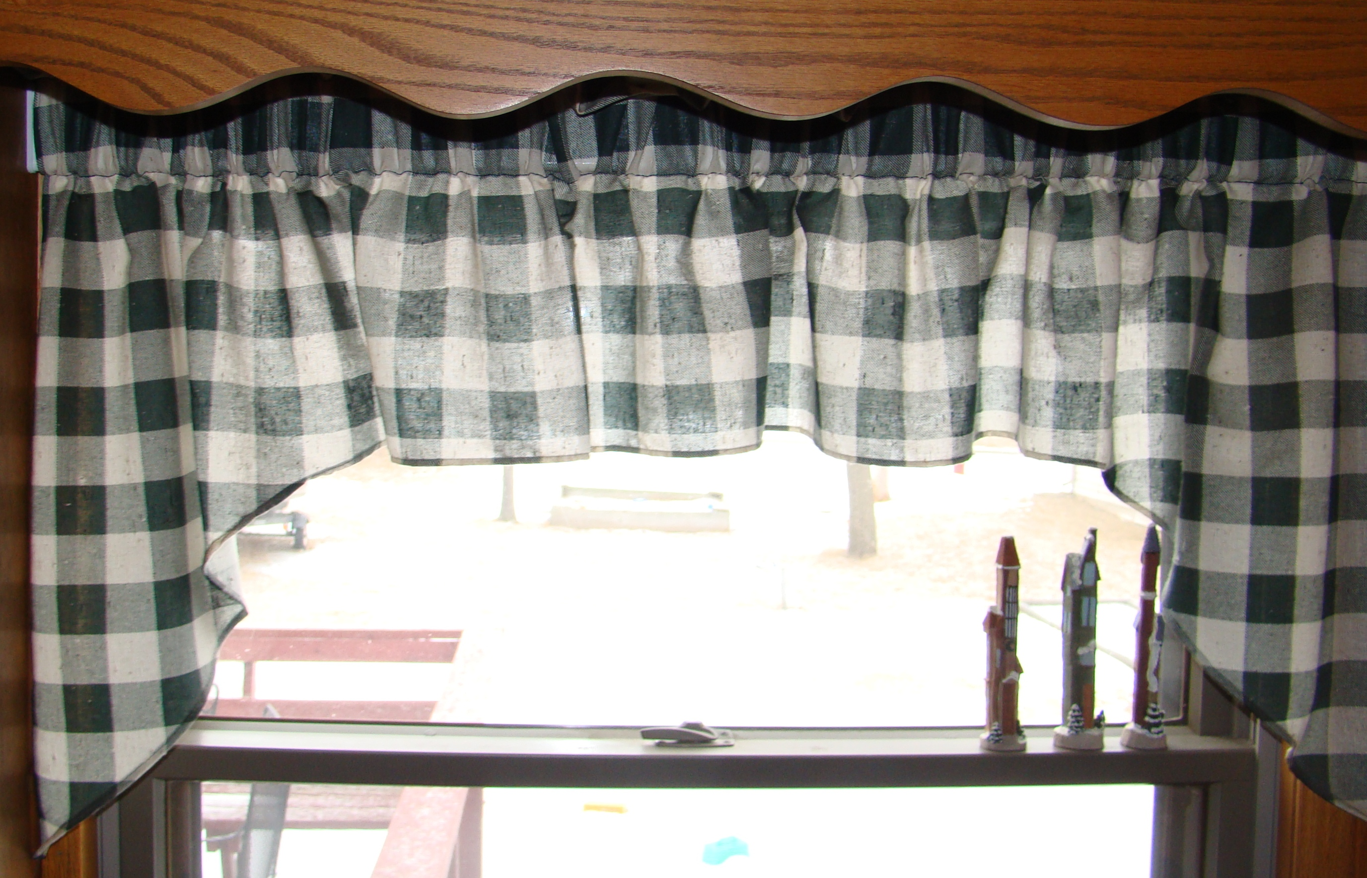 pin valance swag style tudor latte comforter plaid world bedding triomphe x old tailored decor