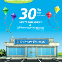 Sherwin Williams Spring Sale – March 15-April 1, 2012