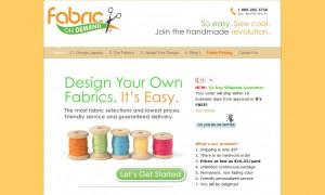 Fabric on Demand custom fabric