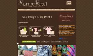 Karma Kraft custom fabric