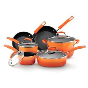 orange cookware