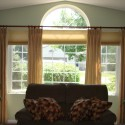 Before and After – Another Way to Treat Arched Windows