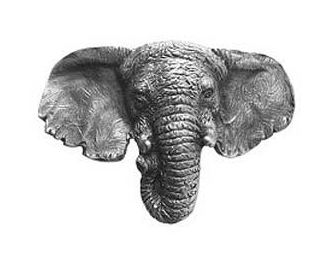 Bellacor Elephant knob