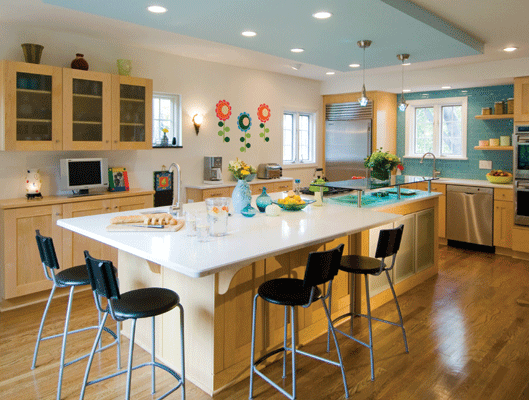 Crystal cabinetry kitchen