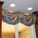 Before and After:  Kitchen Valance