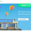Sherwin Williams Paint and Stain Sale – June 2012