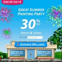 Sherwin Williams Summer Sale – June 24-July 8, 2012