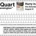 Free Paint at Ace Hardware – Saturday, August 4, 2012