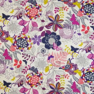 Greenhouse Design Plum Fabric