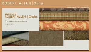 Robert Allen Design Fabric Outlet