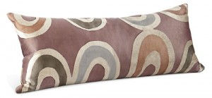 Room and Board Arc Plum pillow