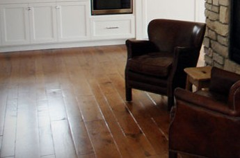 wood floor with oil-based finish