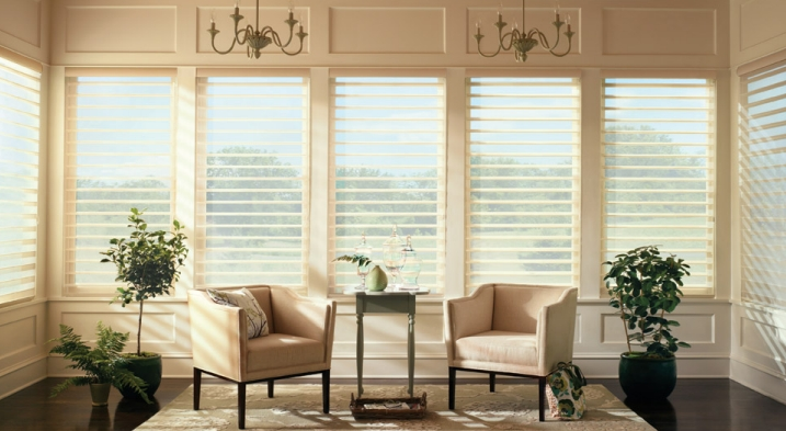 Hunter Douglas Silhouette daylighting