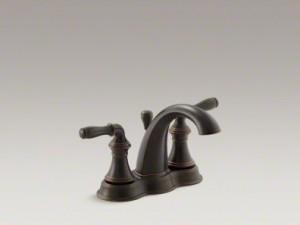 Kohler Centerset Bronze Faucet