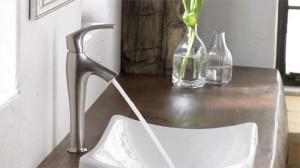 Kohler one-handled faucet