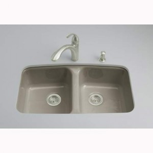 Kohler cast iron porcelain sink