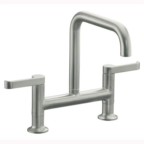 Kohler two-handled kitchen faucet