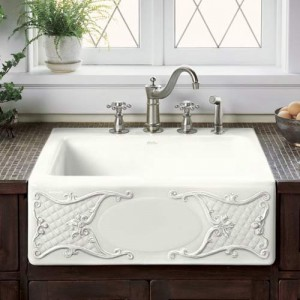 Apron Style Kitchen Sinks : Tips For Choosing a Kitchen Sink (part 2): Configuration and ...