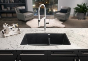Tips for choosing a kitchen sink part 1 material a for Silgranit countertops