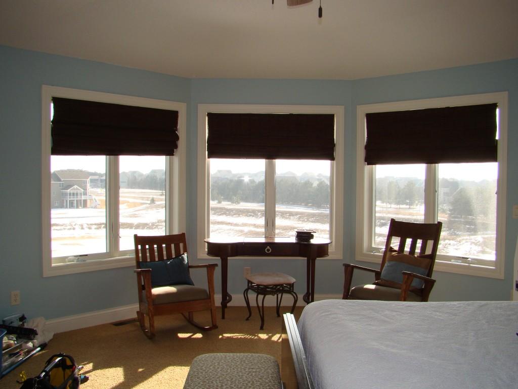 master bedroom window before pic