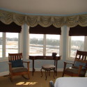 Before and After:  Master Bedroom Valance