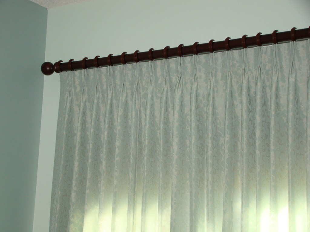 master bedroom drapery detail