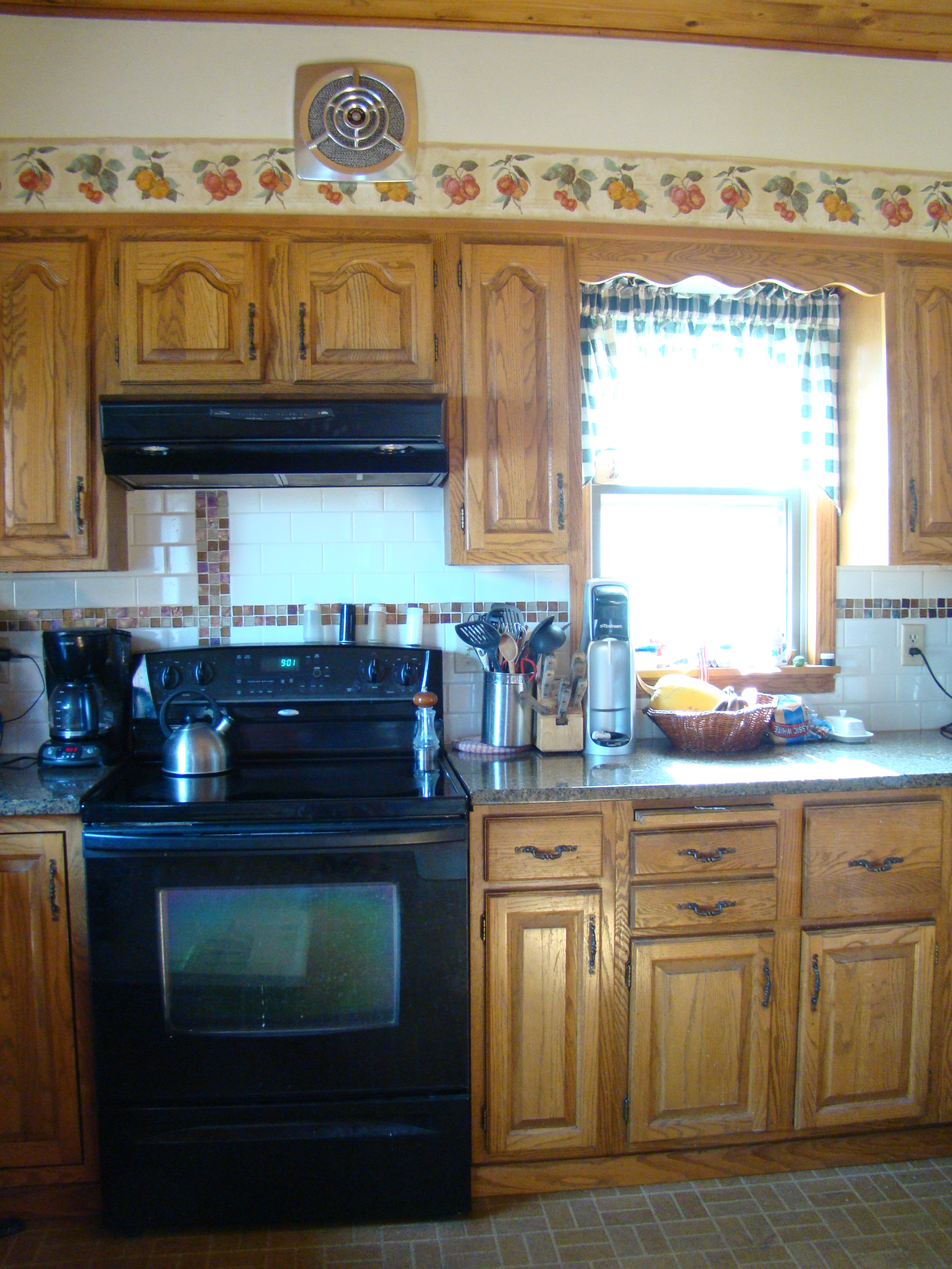 Kitchen With Soffit