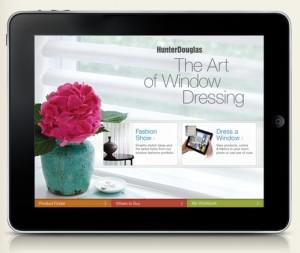 Hunter Douglas free i-pad app