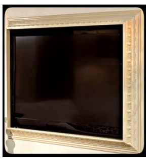 Crown Molding TV Surround