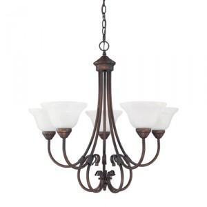 Indirect light chandelier