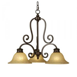 direct light chandelier