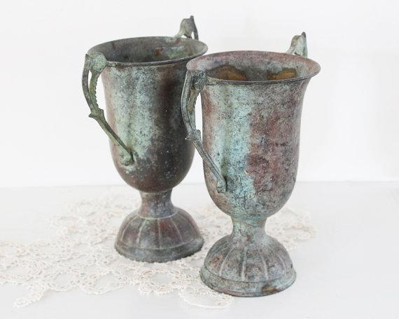 Etsy Bailiwick Vintage Urns