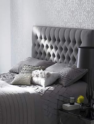 Cozy gray bedroom