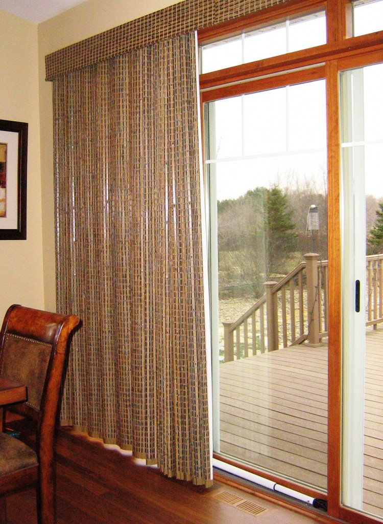 Window Treatments For Sliding Patio Doors A Little Design Help - Hunter douglas blinds for patio doors