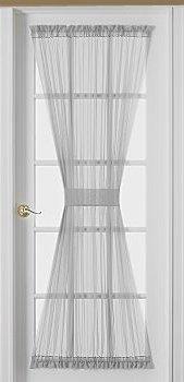 French door sheer curtain