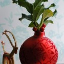 Ornament Vases:  Repurposed Holiday Decor