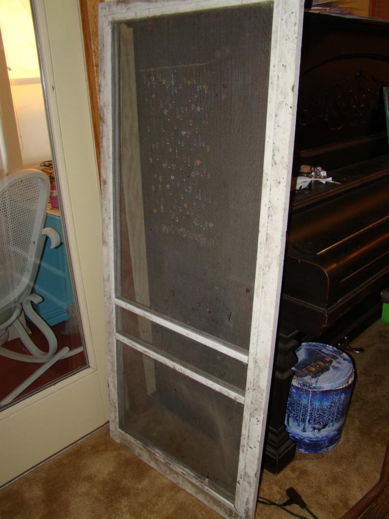 Screen door before pic