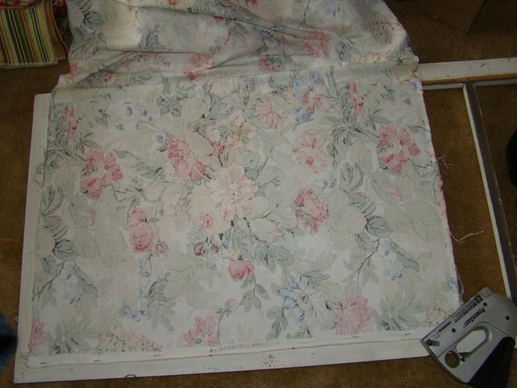 Screen door fabric