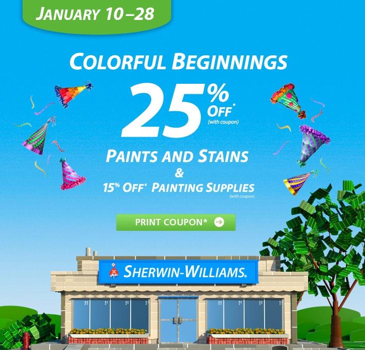 paint sale 2013