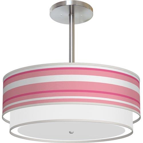 pink striped light
