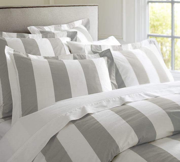 Striped Duvet