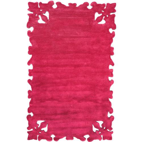 Fuchsia rug