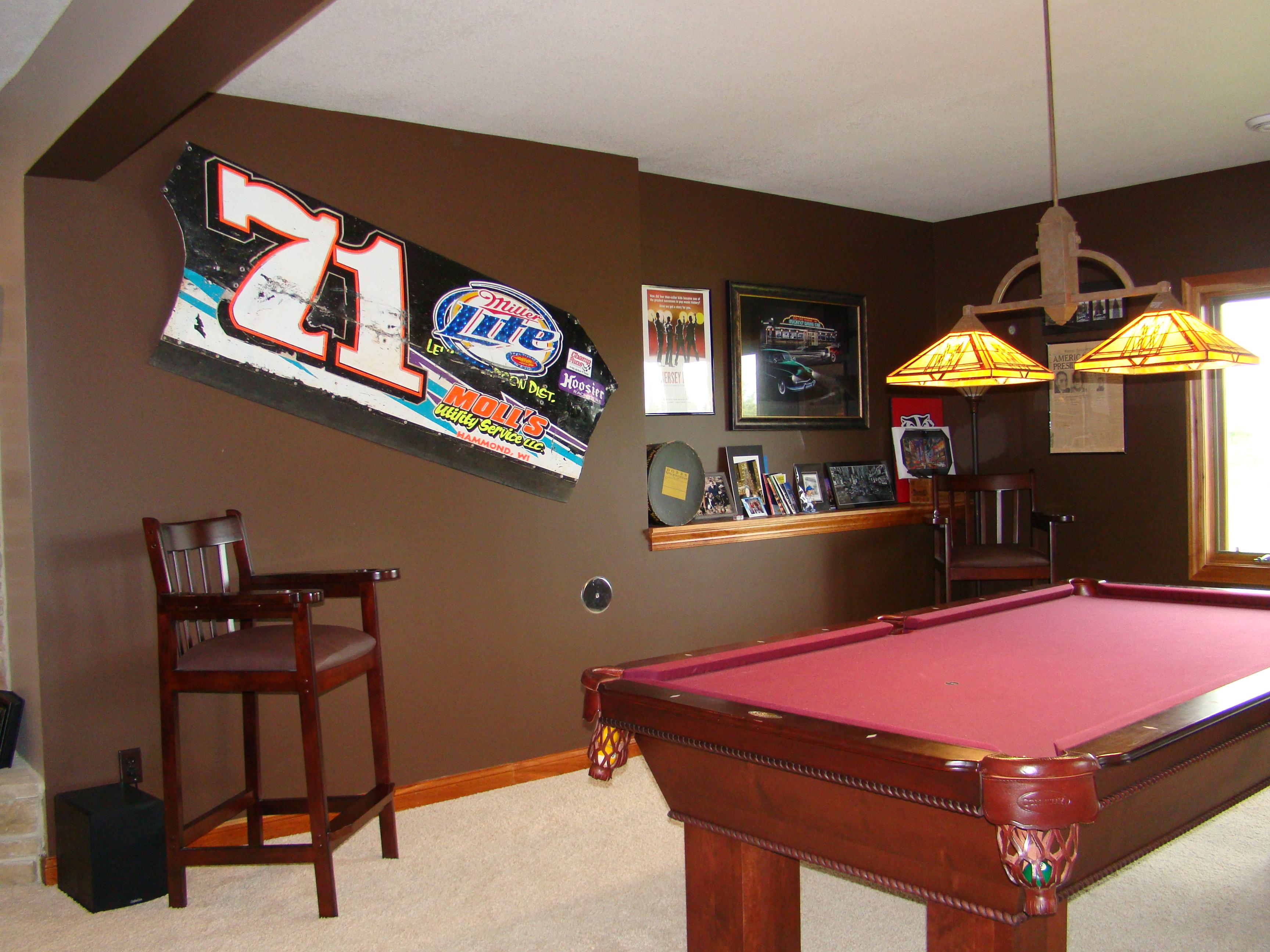 Billiard Room before