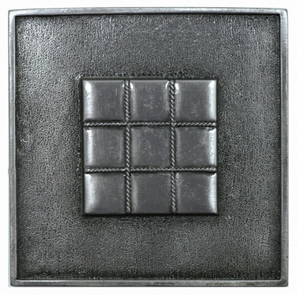 metal quilted tile