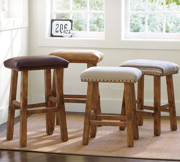 studded stool