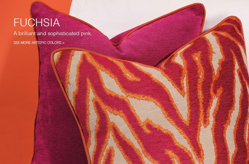 fuchsia fabric