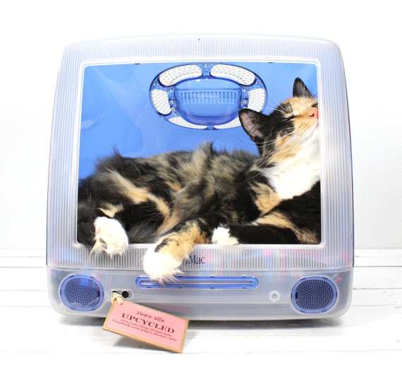cat bed upcycle