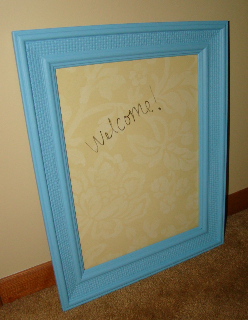 custom diy dry erase board