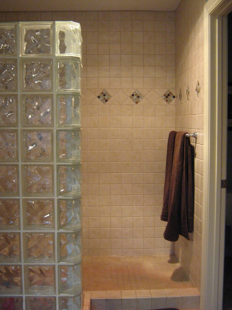 shower tile update