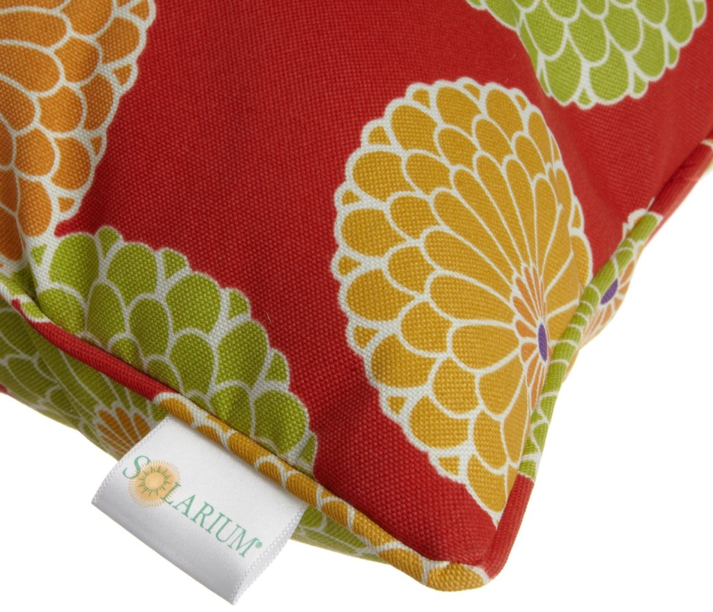 self welt outdoor pillow